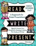 Read.Write.Present {Student Presentations}