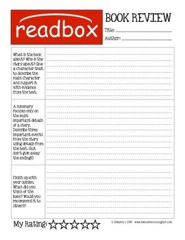 Readbox Classroom Library Display and Book Review