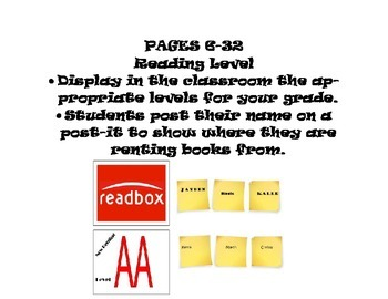 Readbox! Classroom Library with a Redbox twist!