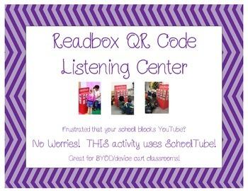 NO PREP Readbox QR Code Listening Center