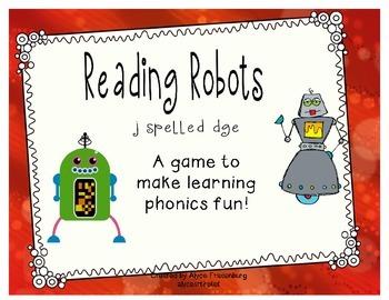 Reading Robots dge says j