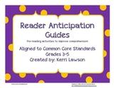 Reader Anticipation Guides