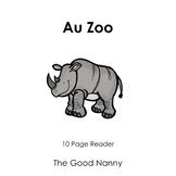 French Emergent Reader - Au Zoo