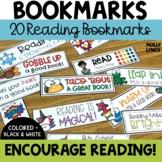 Reader Bookmarks {20 Designs!}