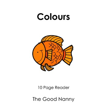 English Emergent Reader - Colours