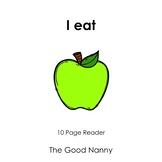 English Emergent Reader - I eat
