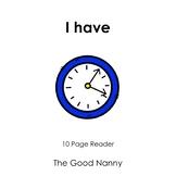 English Emergent Reader - I have