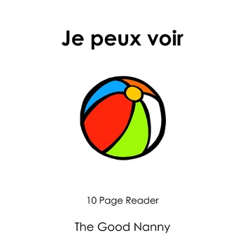 French Emergent Reader - Je peux voir
