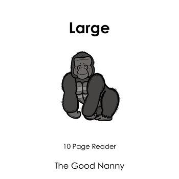 English Emergent Reader - Large