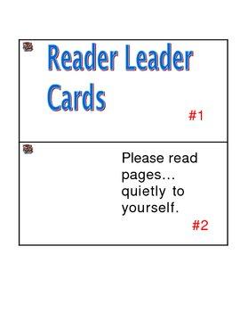 Reader Leader Cards