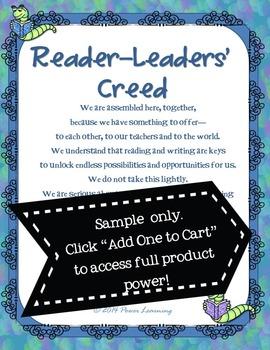 Reader-Leaders' Creed