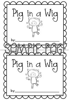 Emergent Reader - Pig in a Wig