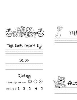 Reader Response - Book Report
