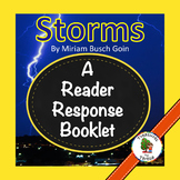 National Geographic KIDS: Storms-Reader Response Booklet-Level J
