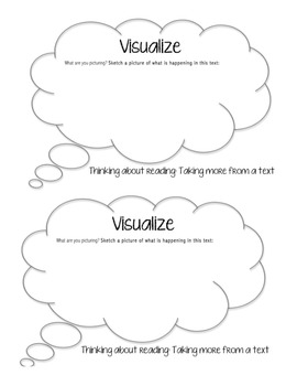 Reader Response Bubbles: Thinking about Reading
