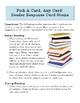 Reader Response Cards