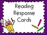 Reader Response Cards in English