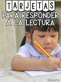 Reader Response Cards in Spanish