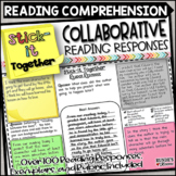 Reading Response - Stick-It Together Collaborative Reading Comprehension