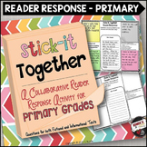 Reading Response Collaborative Activity for Primary Grades