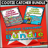 Reader Response Cootie Catcher Comprehension Bundle - School Wide License
