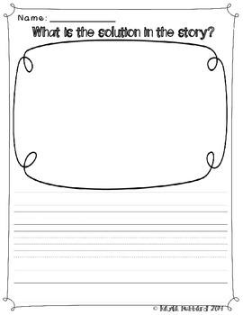 Reader Response Draw & Write Story Elements