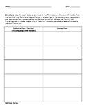 Reader Response Graphic Organizer (Common Core, Close Reading, Literacy Skills)
