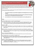 Reader Response Guidelines