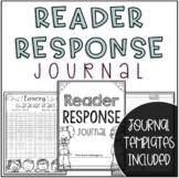 Reader Response Journal Activity Packet