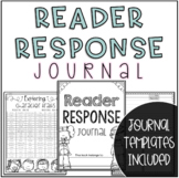 Reader Response Journal Activity Packet