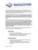 Reader Response Journal Instructions & Rubric