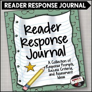 Reading Response Journal: ... by Runde's Room   Teachers Pay Teachers