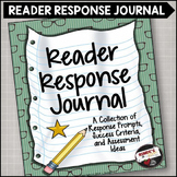 Reading Response Journal Questions Prompts and Assessment