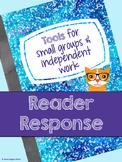 Reader Response Menu