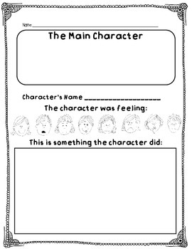 Reader Response Printables for Literacy
