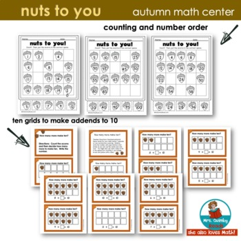 Nuts to You | Lois Ehlert | Reader Response | Writing & Math |  Literature
