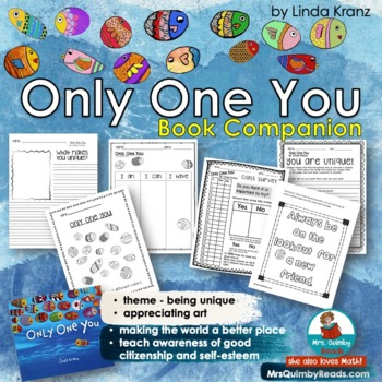 Only One You - Reader Response Pages - [Writing Prompts] Children's Literature