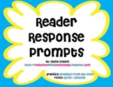 Reader Response Prompt Posters