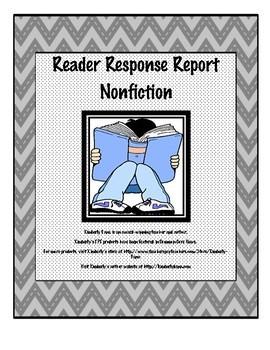 Reader Response Report Bundle - Fiction and Nonfiction
