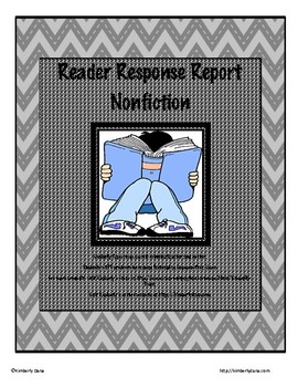 Reader Response Report - Informational/Nonfiction