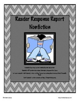 Reader Response Report - Informational/Nonfiction