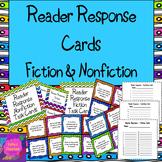 Reader Response Task Cards * Fiction & Nonfiction (28 Comp