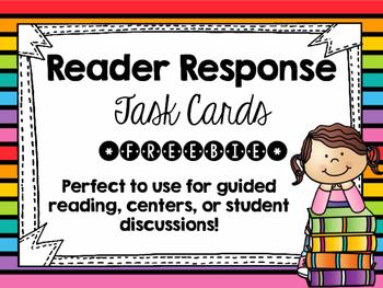 Reader Response Task Cards *Freebie*