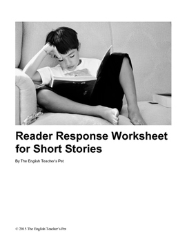 Reader Response Worksheet for Short Stories
