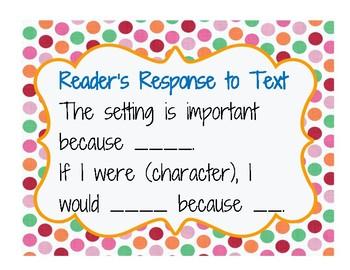 Reader Response to Text