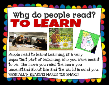 "Reader Talk ""Why do people read?"" Teaching Literacy with Meaningful Conversation"