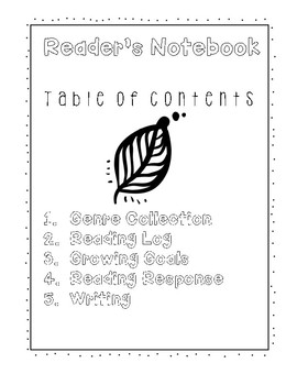 Reader & Writer Notebook