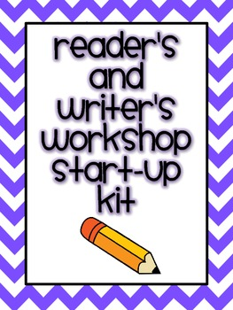 Reader and Writer's Workshop Start-Up Kit