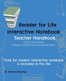 Setting up Independent Reading Interactive Notebook (Digital)