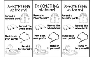 Reader's Do Something At The End! Bookmark